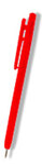 Red Metal Detectable Pens Stick Pocket Clip DetectaPro CPEN