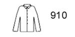 "Guardian Protective Wear® 910Y 30"" Yellow Rain Jacket, S-4X"