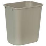 Rubbermaid RCP295600 Deskside Wastebasket, 28-1/8-Quart
