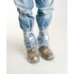 Boot Cover, Polyethylene, Clear, Tie Top, 2X-Large