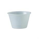 Solo®, Cold Cup, Translucent, Plastic, 4 oz, 250 per Bag 2500 per Case