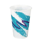 Solo®, Cold Cup, Paper, 7 oz, Jazz, 100 per Bag|2000 per Case