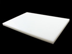 "Sanalite® Polyethylene White Textured Cutting Board 24"" x 30"" x .75"""