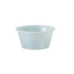 Solo®, Cold Cup, Translucent, Plastic, 2 oz, 250 per Bag|2500 per Case