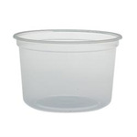Solo®, Cold and Hot Cup, Clear, Plastic, 16 oz, 500 per Case