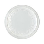 Solo®, Food Container Lid, Round, Plastic / Polypropylene, Clear, 4.8 in