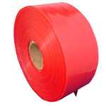 """TUBING POLY 4"""" X 1075' X 4 MIL RED, TINT 40 ROLL/PALLET 3"""" CENTER CORE"""