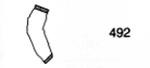 Sleeve, Polyurethane on Nylon, Yellow, 18 in, Universal