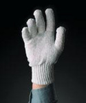 Tomlinson® 1036211 Mens White Cotton Knit Preshrunk Gloves
