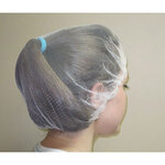 Hairnet, Nylon, White, Universal, 28 in