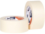 Masking Tape, Crepe Paper / Thermoplastic Rubber, Natural, 60 yds, 1/2 in, 72 Rolls per Case