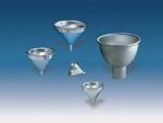 Funnel, Aluminum, Satin, 1/2 pt, 3-7/8 in, 1 mm, 3-5/8 in, 18 Gauge Thick