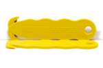 Klever Kutter Safety Box Cutter Dual Hook Carbon Steel Blade Yellow