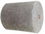 Meltblown Mat Roll, Inert Polypropylene, 45 gal/Box, Gray, 150 ft, 30 in, Universal, 1 Roll per Box
