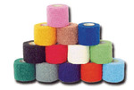 CoFlex®Vet, Bandage Wrap, Red / Blue / Purple / Neon Green / Neon Pink / Light Blue, 1 in