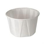 Solo®, Cold and Hot Cup, White, Paper, 2 oz, Souffle, 250 per Bag 5000 per Case