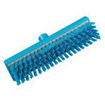 Resin-Set DRS®, Deck Scrub Brush, Polyester, 11.8 in, Stapled, Blue