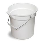 Continental® Huskee® 8110 Polyethylene Buckets 10-Quart Assorted Colors