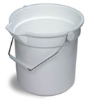 Continental® Huskee® 8114 Polyethylene 14qt Bucket Assorted Colors