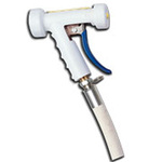 Strahman® M75W0075SWIVEL Swivel Spray Nozzle (White, ¾ in Barb)