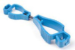Glove Guard® Clip Metal Detectable Blue Breakaway Clip