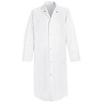 VF 4006WH White Butcher Coat, No Pockets, 3XL