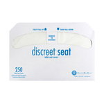 Hospeco DS-5000 Discreet Seat Half-Fold Toilet Seat Covers