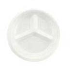 Boardwalk®, Disposable Plate, Round, Non-Laminated Foam, White, 10-1/4 in