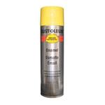 Enamel Spray Paint, Aerosol Can, Safety Yellow, 15 oz