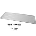 CPW-Series Rectangular Plastic Tray, White