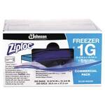 Ziploc® 1-Gallon Clear Seal Double Zipper Top Freezer Bags 2.7 mil