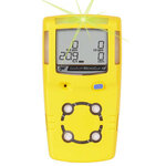 BW MCX3-XWHM-Y-NA 4 GAS Gasalert Detector O2 H2S and CO Yellow