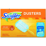 "Swiffer® PGC 1180 4CT Dusters Starter Kit, 6"" Handle Length"
