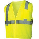 Pyramex® RVZ2110 Hi Vis Safety Vest, Class 2 Hi Vis Lime