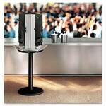 SmartStock® DXESSBASE08 Utensil Dispenser Carousel Floor Stand